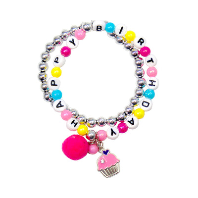 Great Pretenders Happy Birthday Bracelet Set