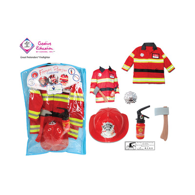 Great Pretenders Firefighter Set with Accessories