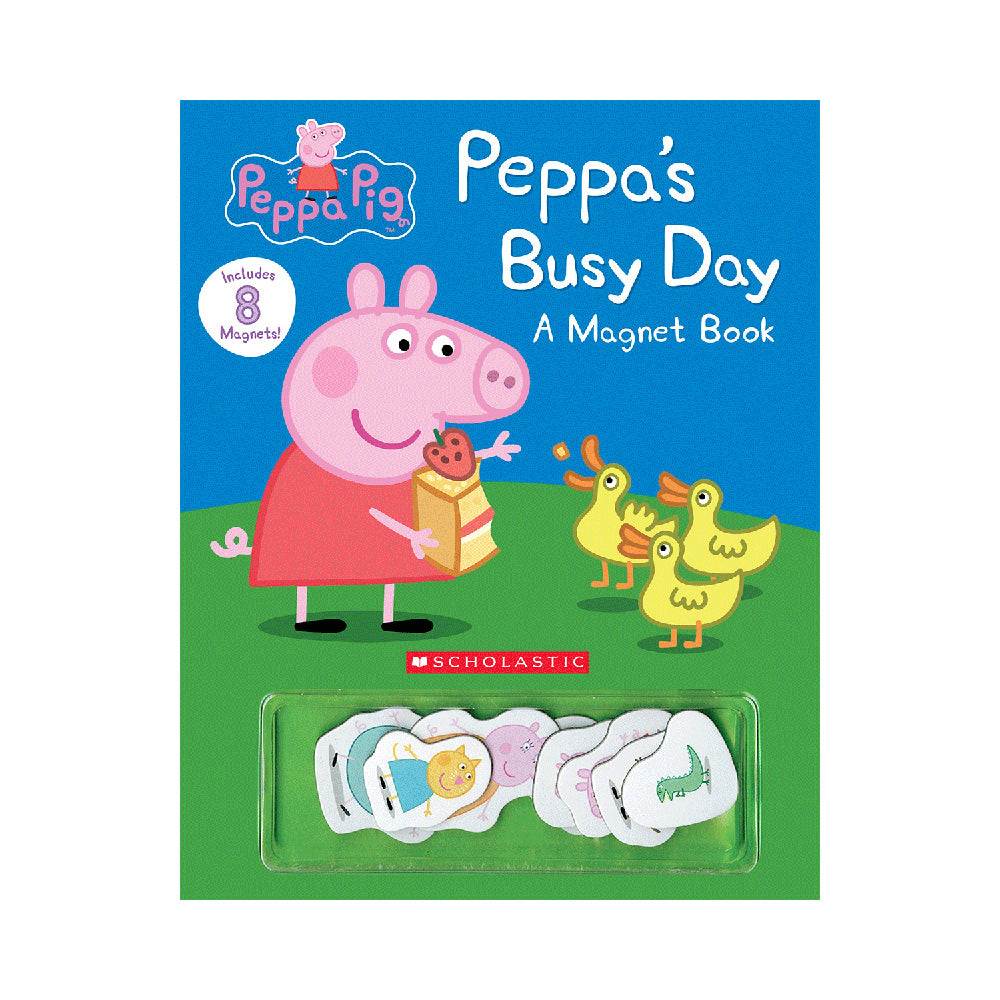 Peppa's Busy Day Magnet Book