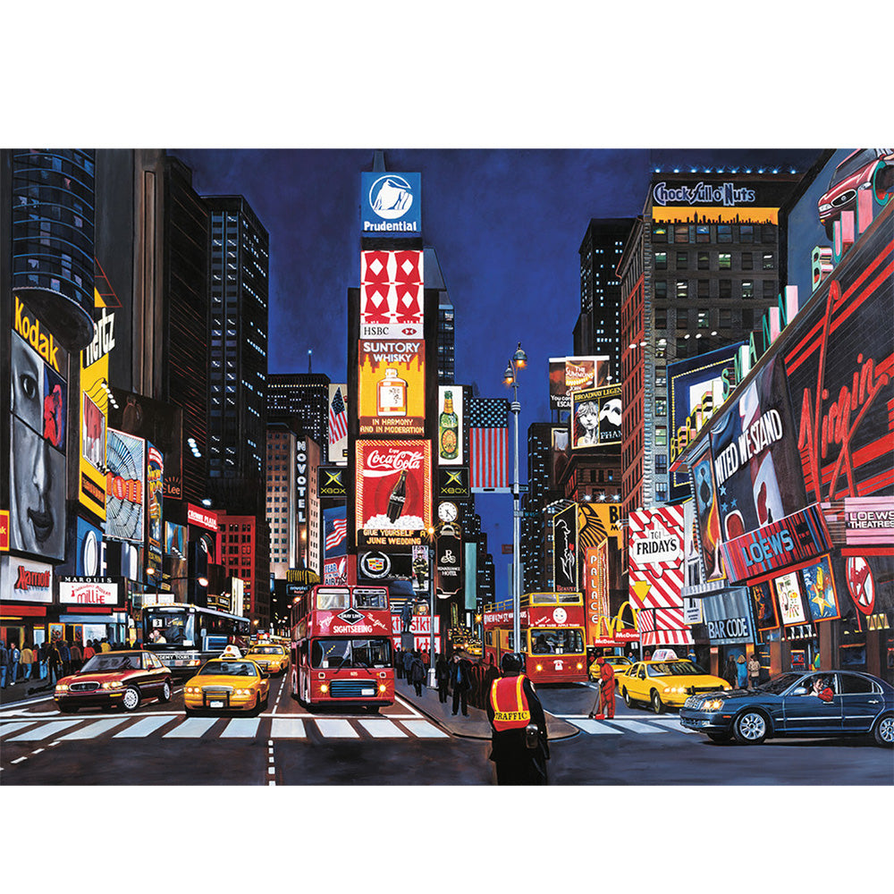 Ravensburger Times Square NYC 1000 Piece Puzzle