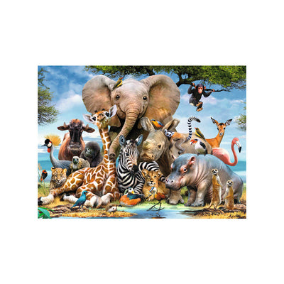 Ravensburger African Friends 300 Piece Puzzle