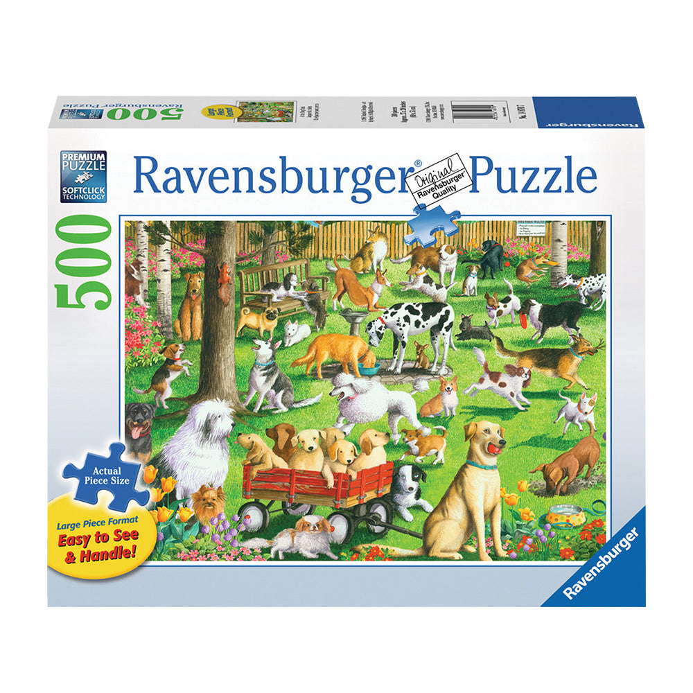 Ravensburger At the Dog Park 500 Piece Puzzle