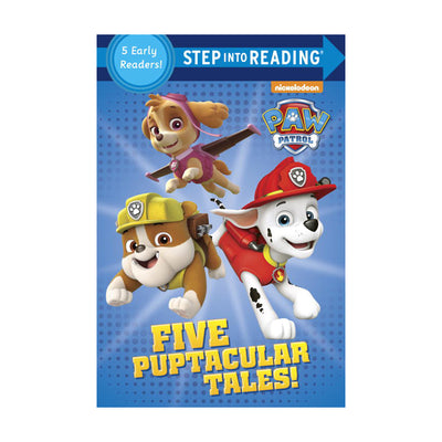 Step Into Reading: PAW Patrol Five Puptacular Tales!