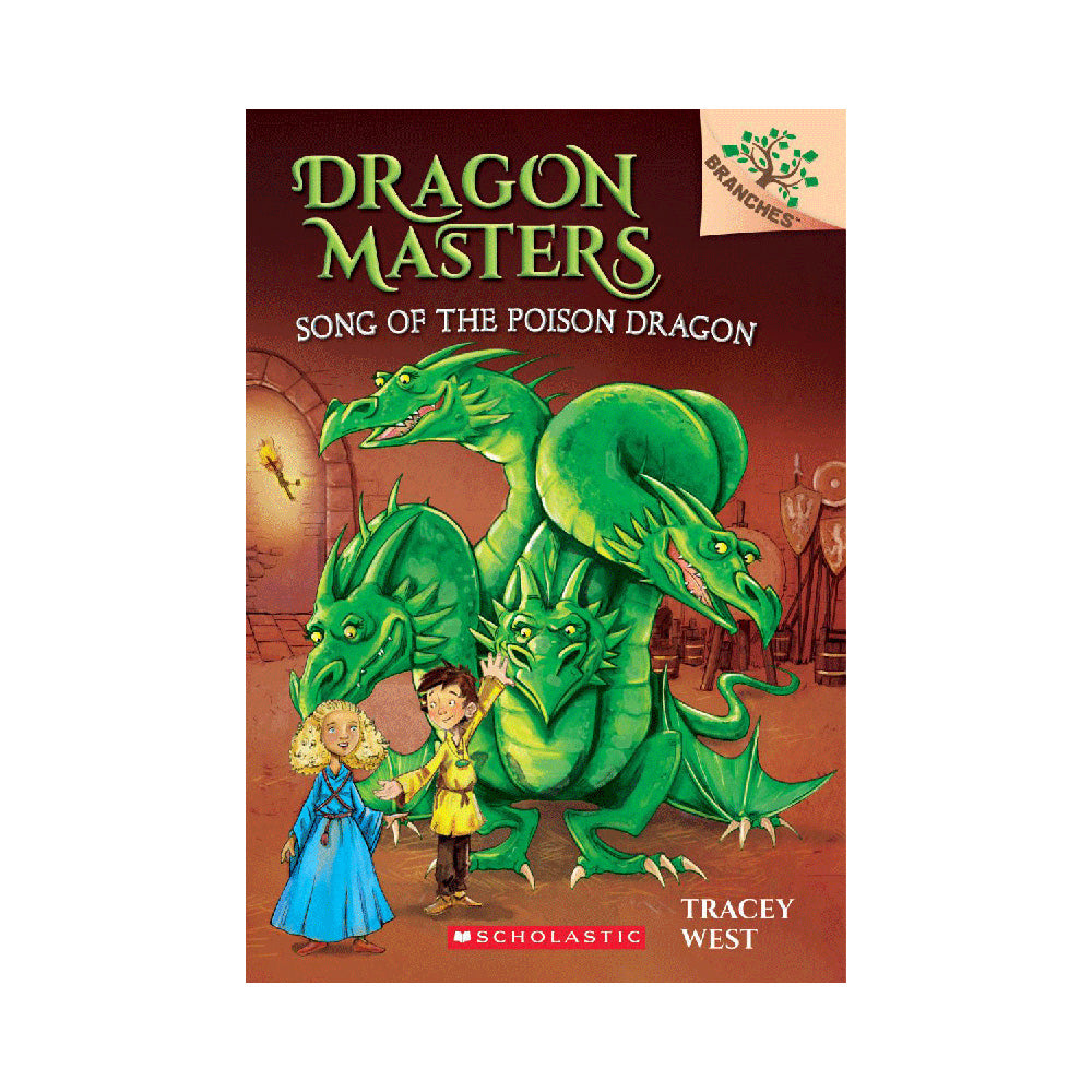 Dragon Masters #5: Song of the Poison Dragon Novel