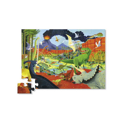 Crocodile Creek Land of Dinosaurs 36 Piece Puzzle