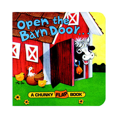 Open the Barn Door, Find a Cow Lift-the-Flap Book
