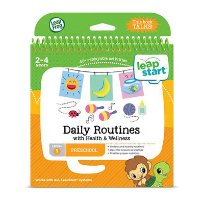 LeapStart™ Daily Routines Activity Book