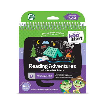 LeapStart Kindergarten Reading Activity Book