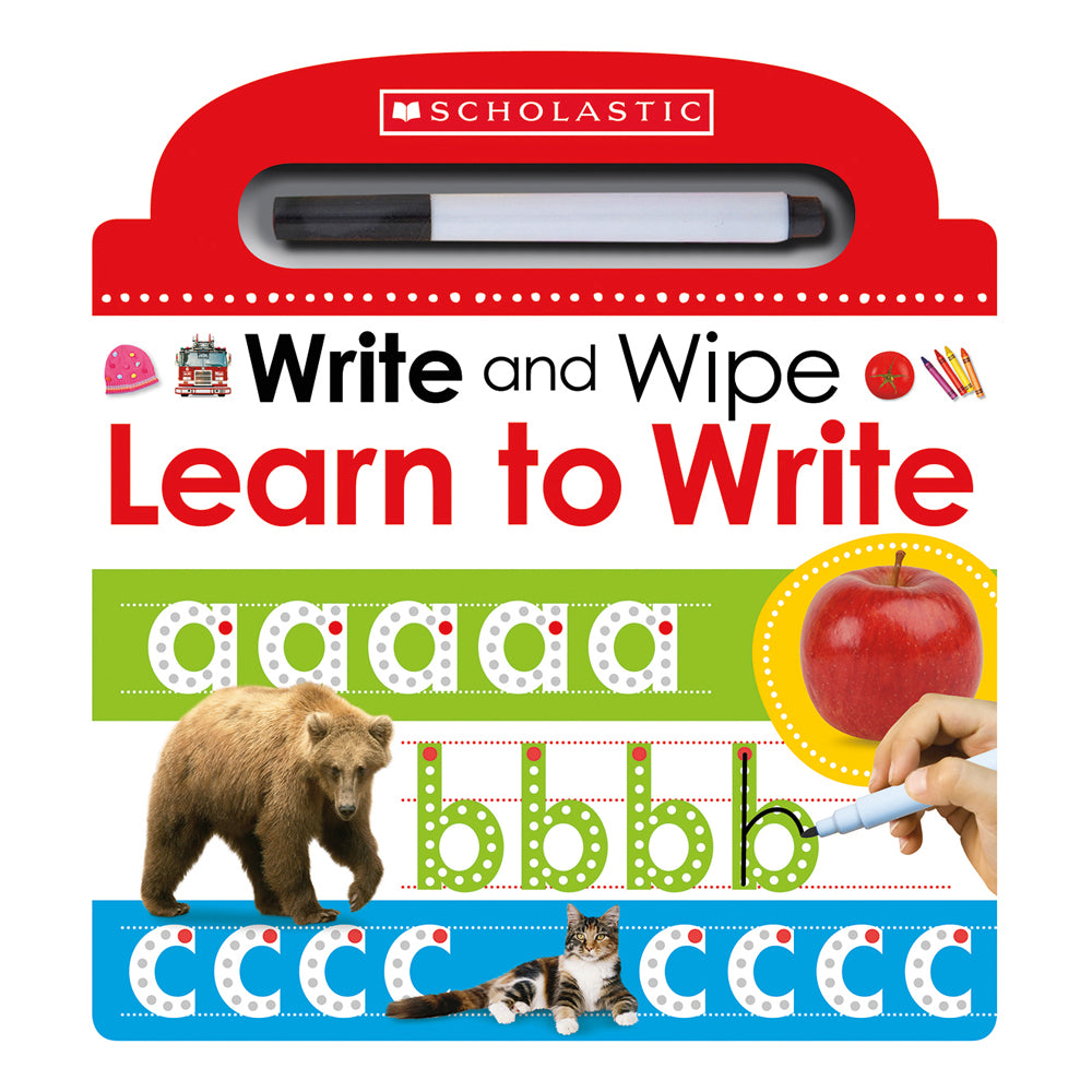 Write and Wipe Learn to Write