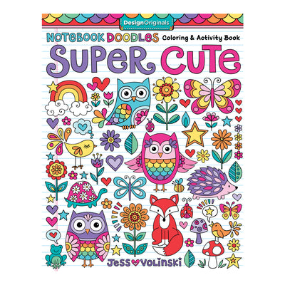 Super Cute Notebook Doodles Color Activity Book