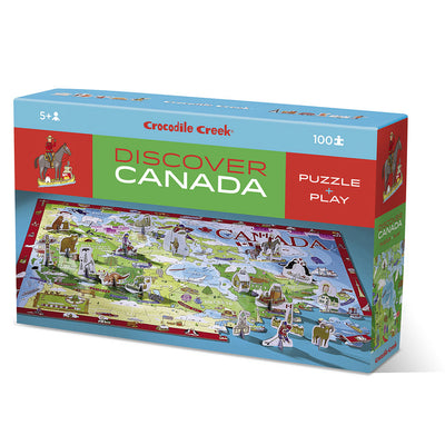 Discover Canada Learn & Play Puzzle