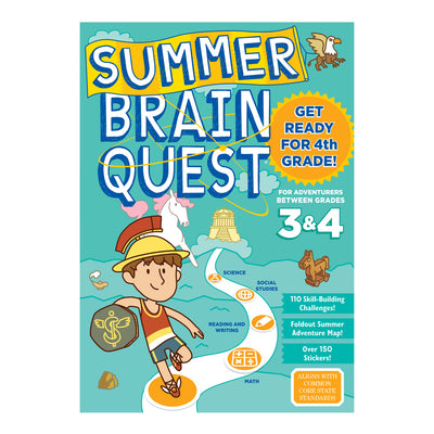 Summer Brain Quest Between Gr 3 & 4