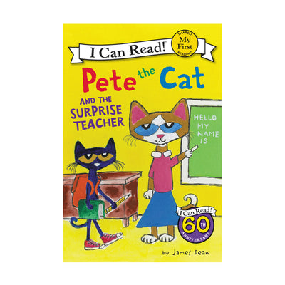 Pete the Cat Surprise Teacher My First Reader