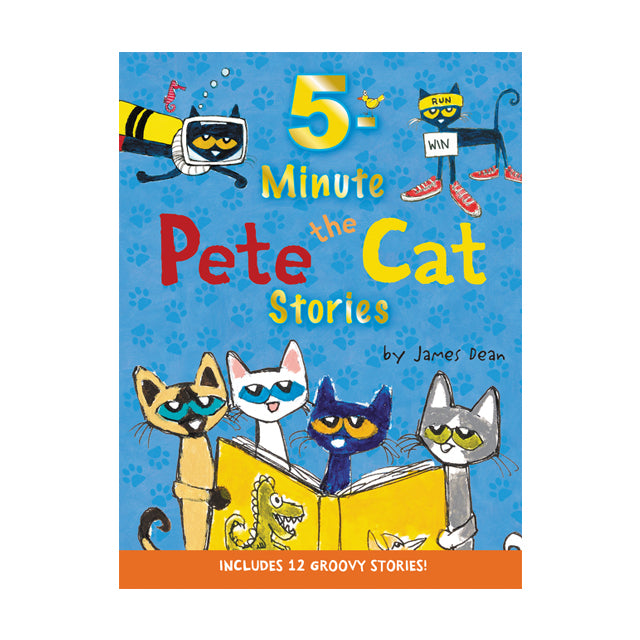 Pete The Cat 5-Minute Pete The Cat Stories
