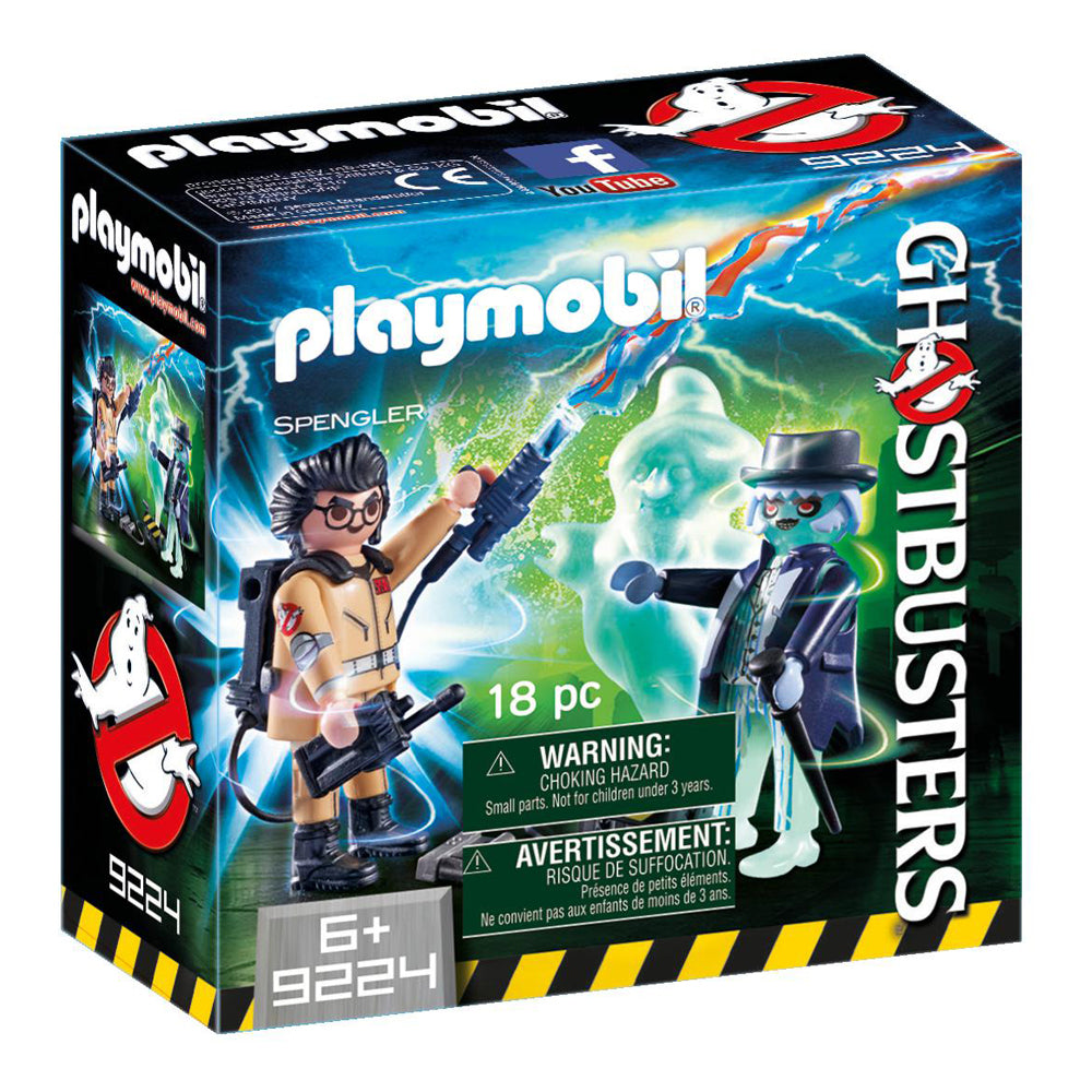 Playmobil Ghostbusters™ Spengler and Ghost