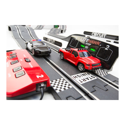 LiteHawk Hot Pursuit Slot Car Track