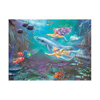 Ravensburger Little Mermaids 100pc Glitter Puzzle
