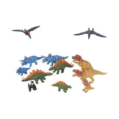 Wild Republic Dinosaur Family Nature Tube