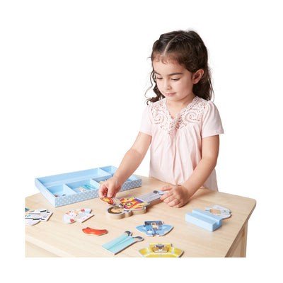 Melissa & Doug Julia Magnetic Dress-Up