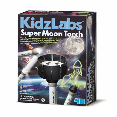 4M Kidz Labs Super Moon Torch