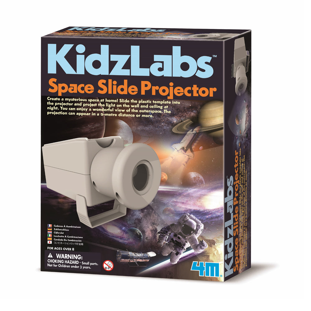 4M Kidz Labs Space Slide Projector