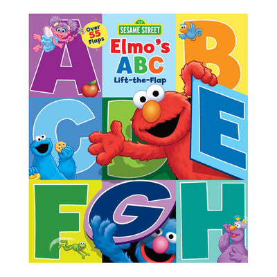 Sesame Street: Elmo's ABC Lift-the-Flap