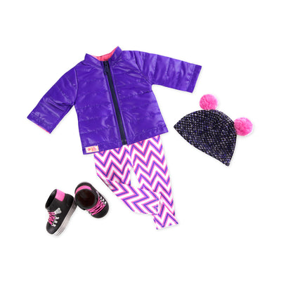Our Generation Winter Walk 18'' Deluxe Outfit