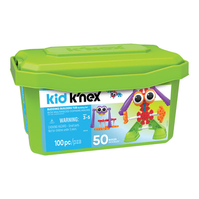 KID K'NEX Budding Builders 100pc Set