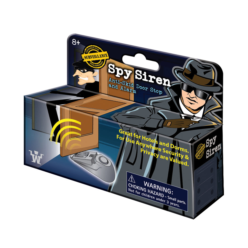 Spy Siren Anti-Skid Door Stop and Alarm