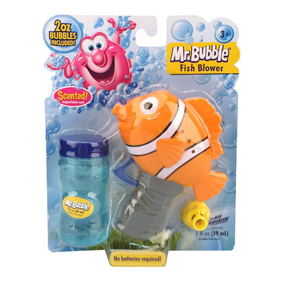 Kid Galaxy Mr. Bubble Fish Blower