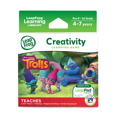 LeapFrog LeapPad Trolls Creativity Learning Game