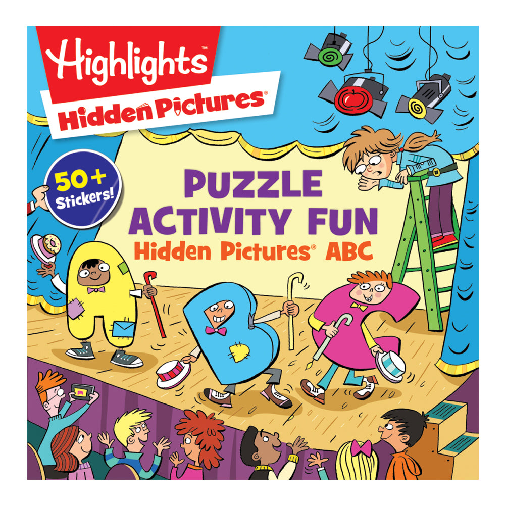 Puzzle Activity Fun: Hidden Pictures ABC