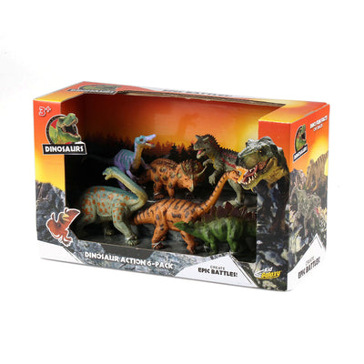 Kid Galaxy Dinosaur Action 6-Pack