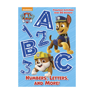 Paw Patrol Numbers, Letters, and More!
