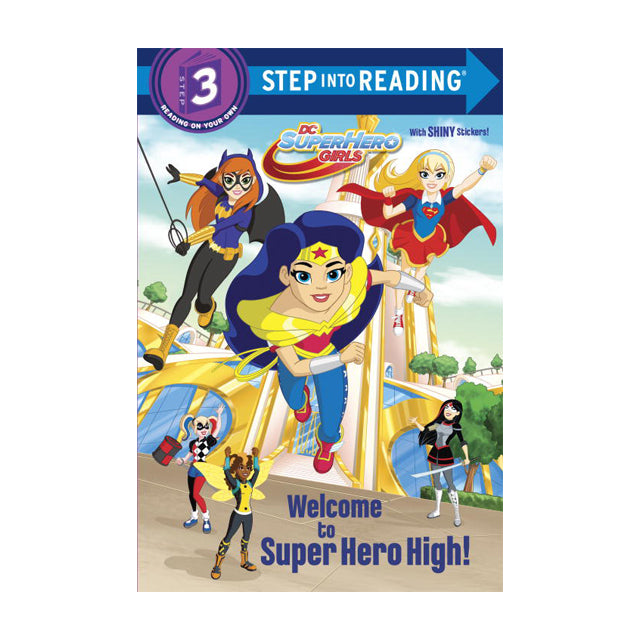 DC Super Hero Girls L3 Welcome to Super Hero High