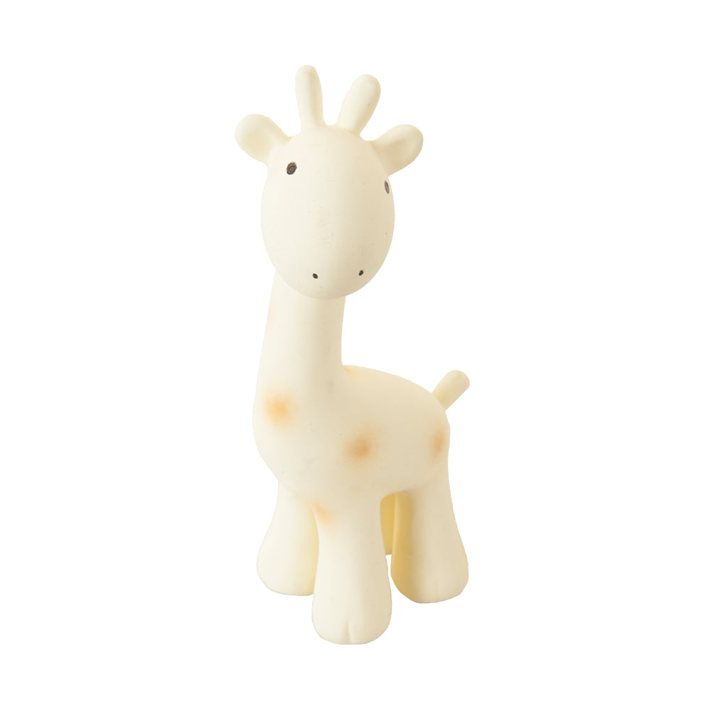 My First Zoo Giraffe Rubber Rattle Teether