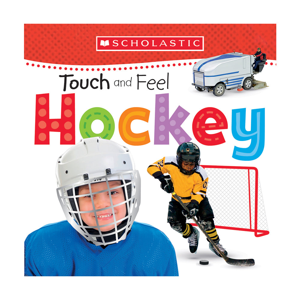 Scholastic Early Learners: Touch and Feel Hockey