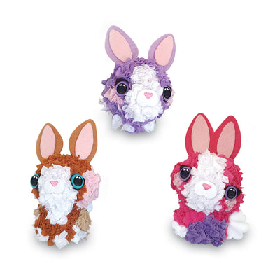 ORB™ PlushCraft™ 3D Baby Bunnies 3 Pack