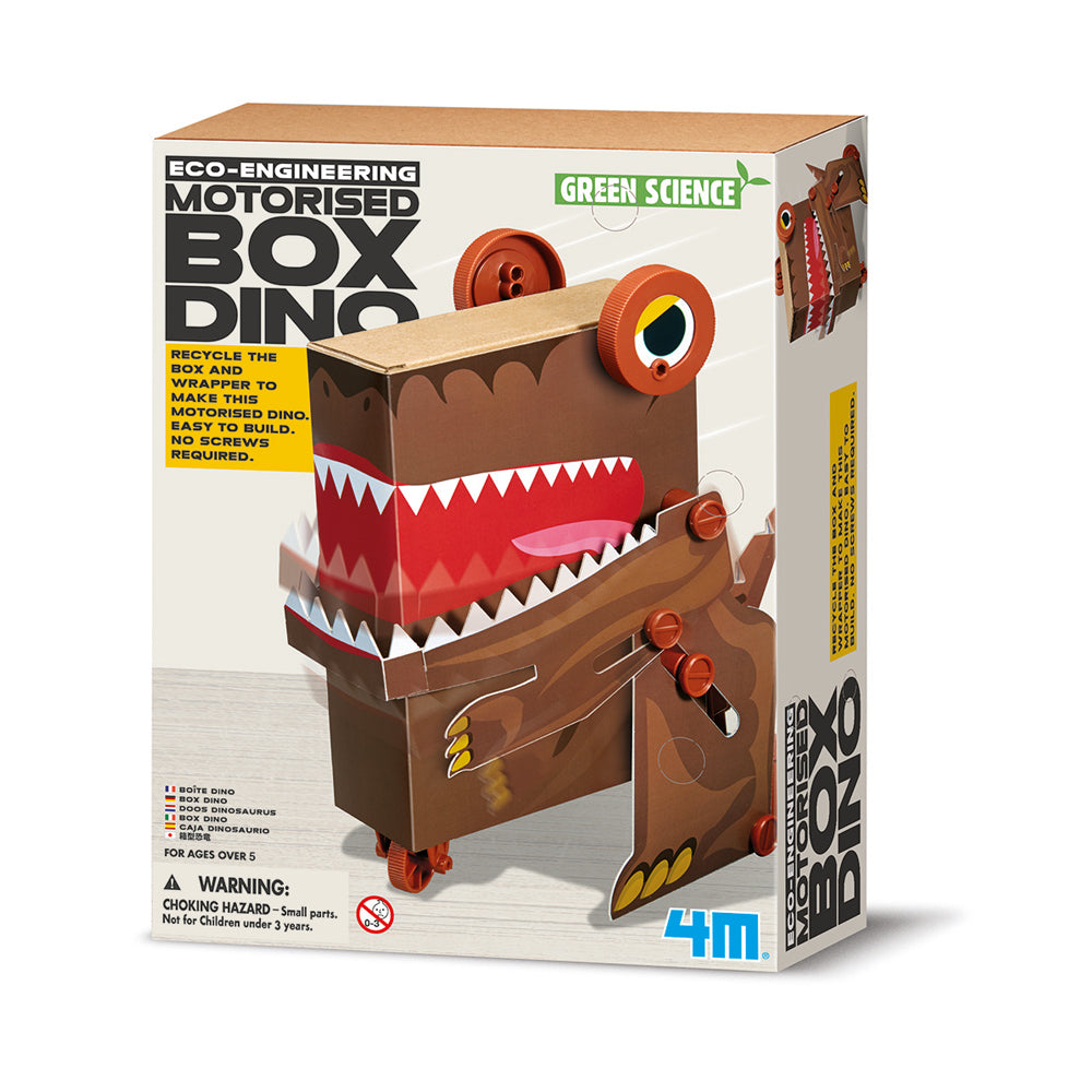 4M Eco-Engineering Motorised Box Dino