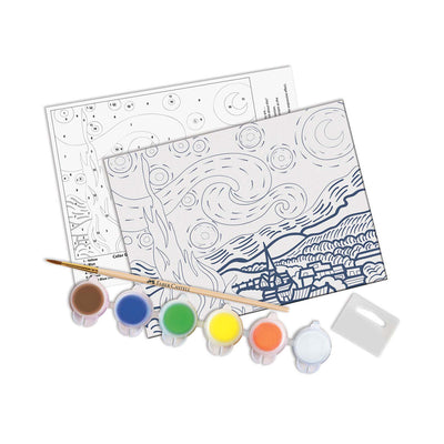 Faber-Castell Paint by Number Museum Series - The Starry Night