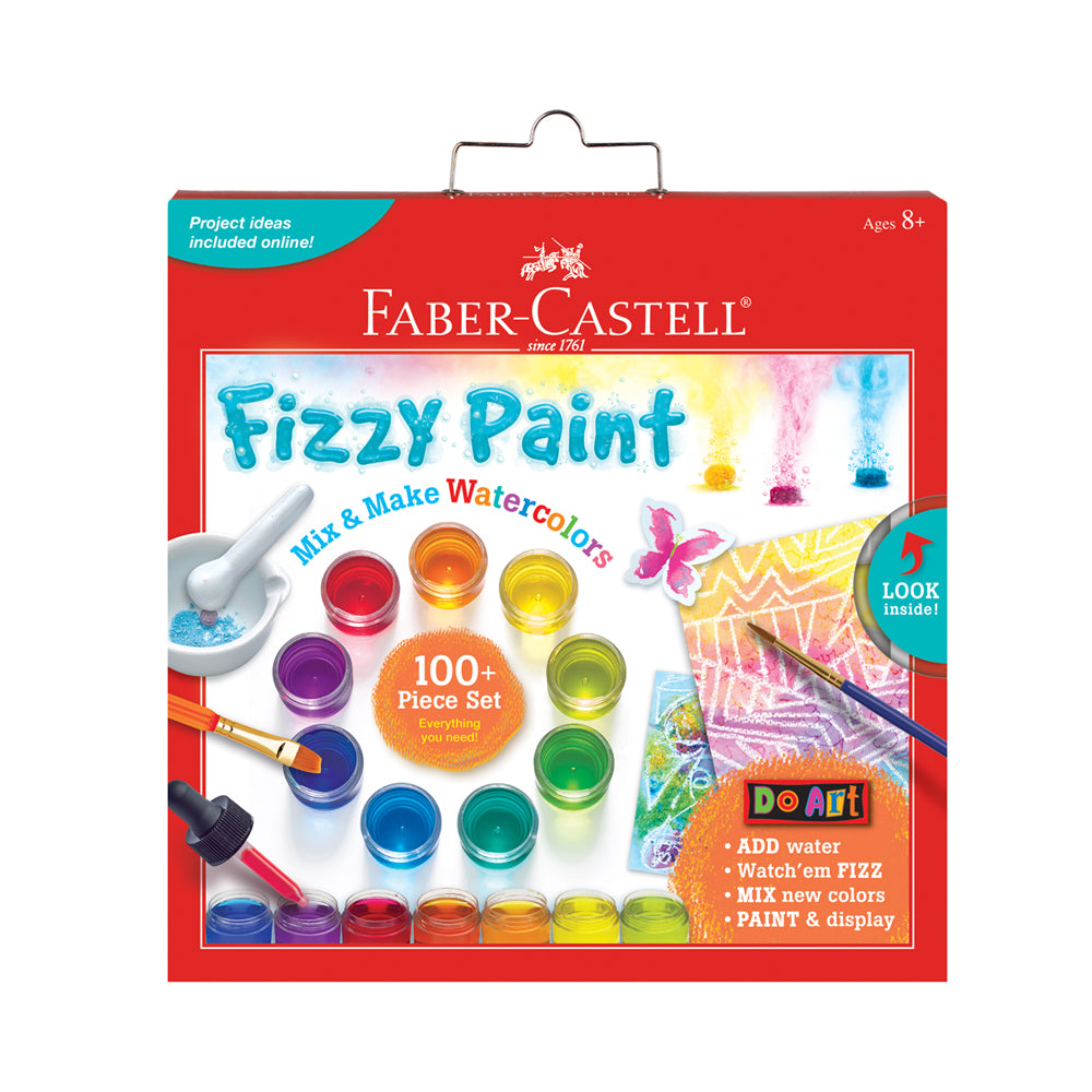 Faber-Castell Do Art Fizzy Paint: Mix & Make Watercolours