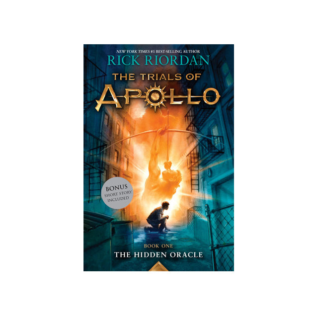 Trials of Apollo Book# 1: The Hidden Oracle