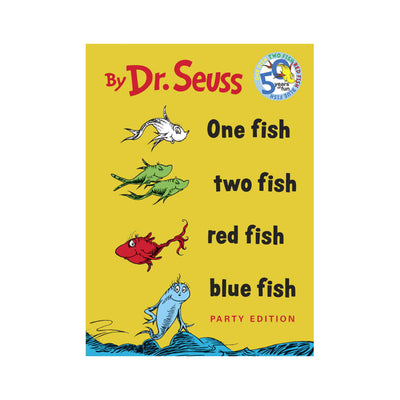 One Fish, Two Fish, Red Fish, Blue Fish Storybook