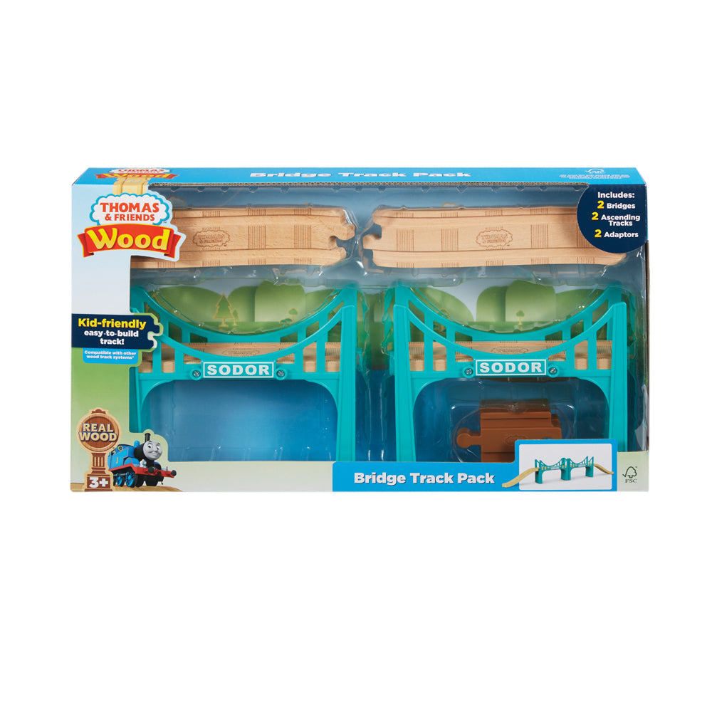 Thomas & Friends Bridge Wood Track Pack