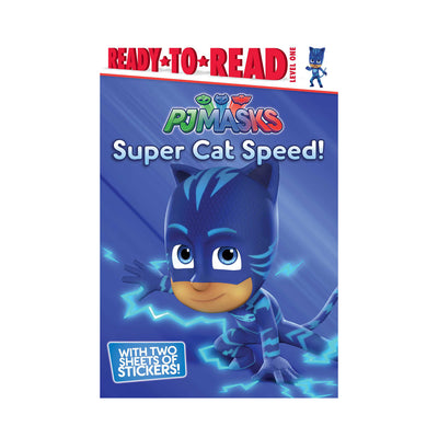 Ready-to-Read L1: PJ Masks: Super Cat Speed!