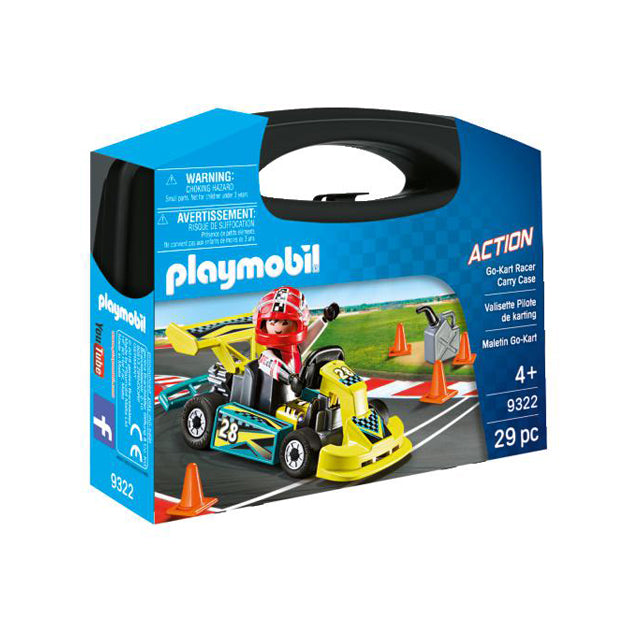 Playmobil Action Go Kart Carry Case Small