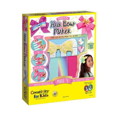 Creativity for Kids Designed by You Hair Bow Maker