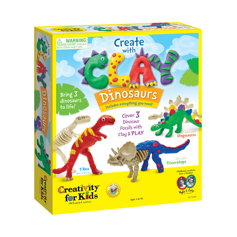 Creativity for Kids Create with Clay: Dinosaurs