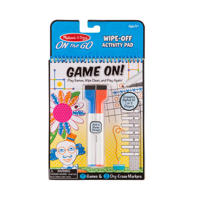 Melissa & Doug On the Go Write On! Reusable Games