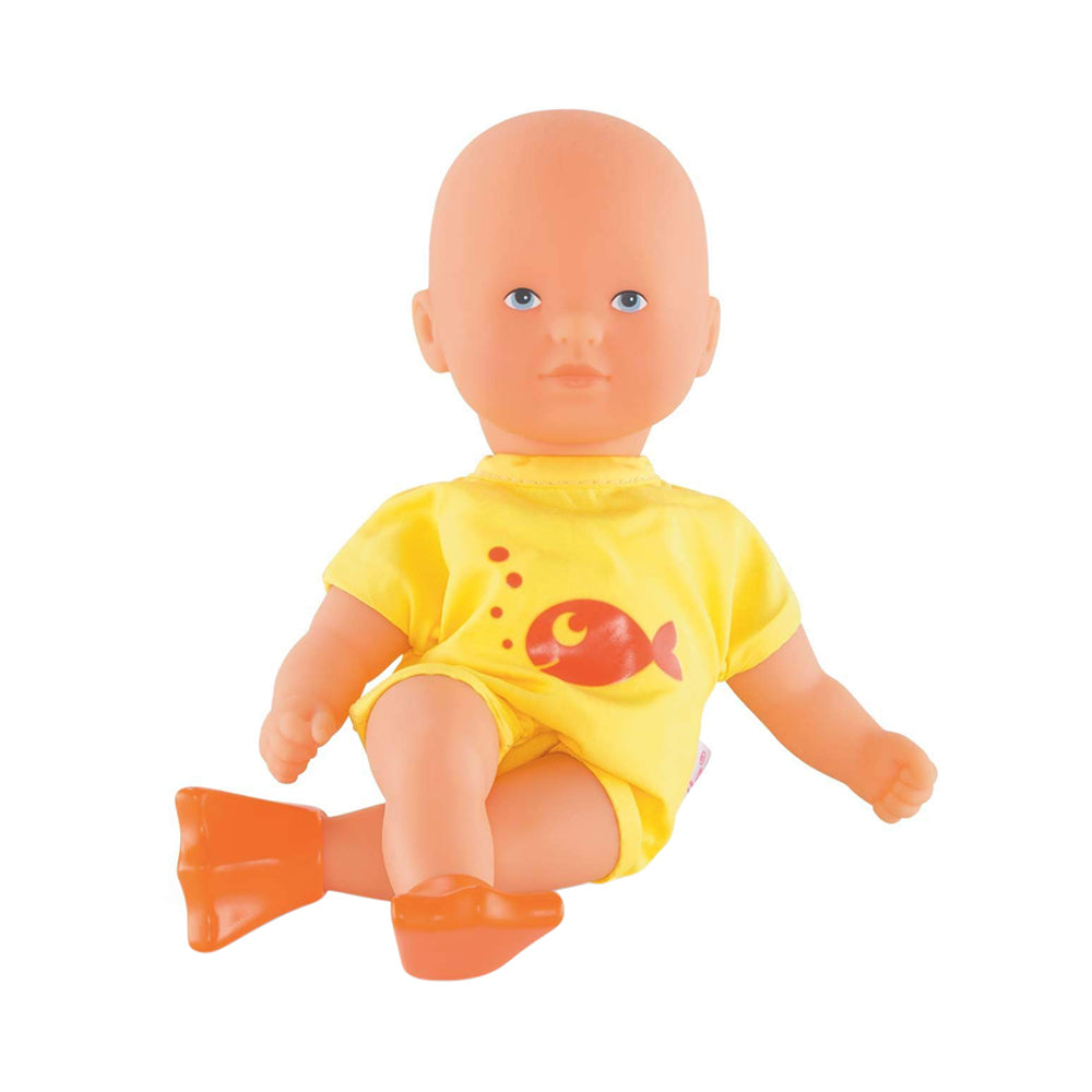 Corolle Mini Yellow Bath Doll